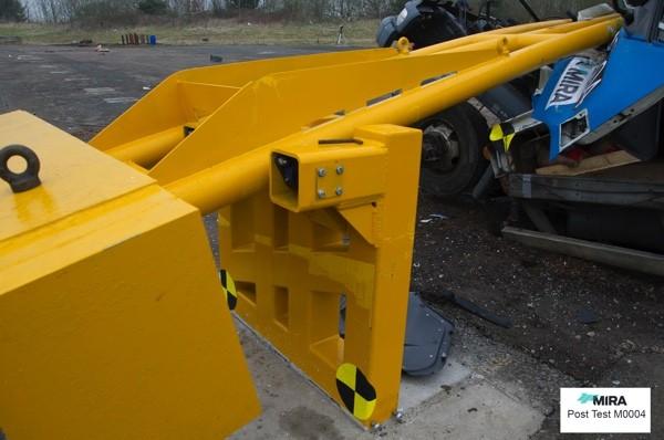 AVS-elli Drop Arm Barrier Test M0004