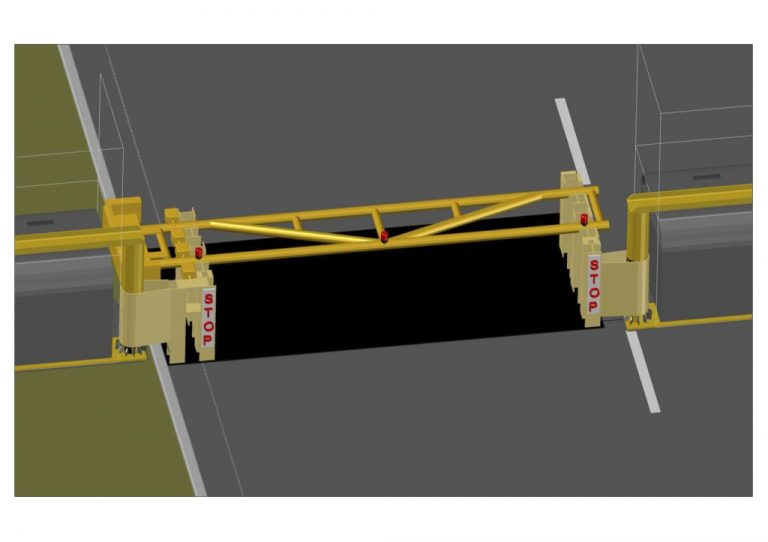 AVS-elli Drop-arm-barrier-CAD-image