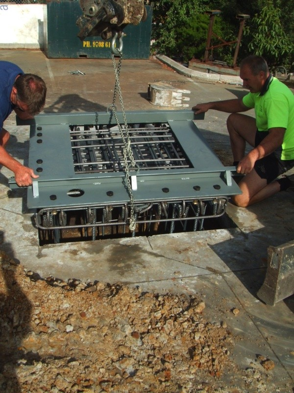 AVS-elli Foundation Installation