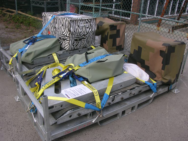 avselli LW3 Quickfit packed for transport