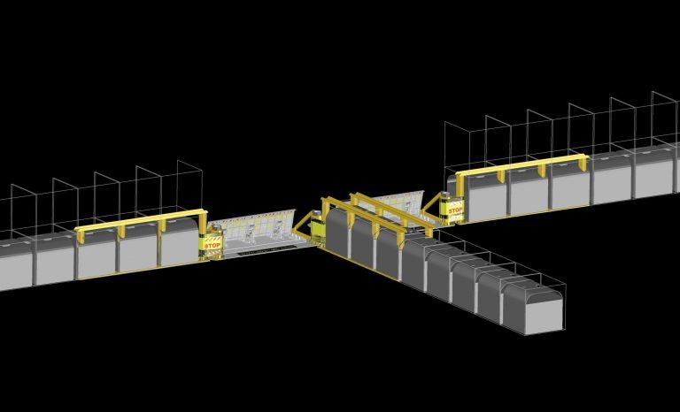 avselli dual lane LWs to Hesco bastions