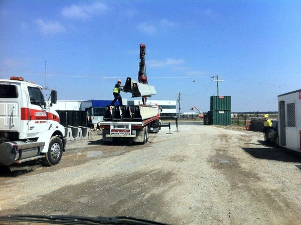Unsafe road barrier lifting
