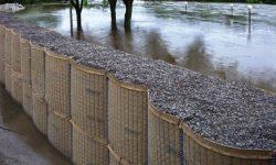 avselli Hesco flood barrier